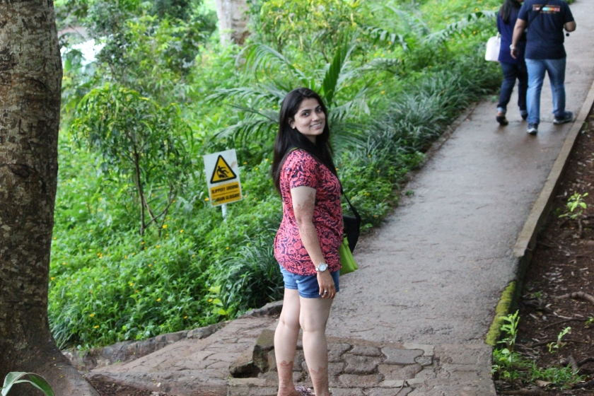 Me in the Botanical Gardens